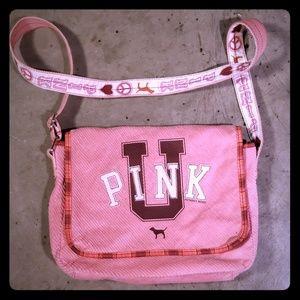 VINTAGE Victoria's secret pink crossbody ♡